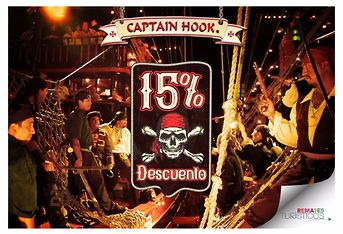 15% En Captain Hook