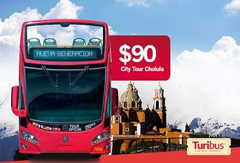 City Tour Cholula a $90