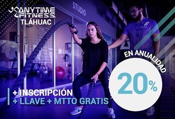 Cupon de descuento para ANYTIME FITNESS TLÁHUAC