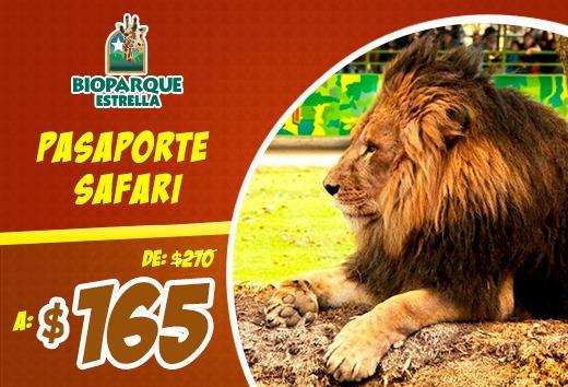 Pasaporte Safari de $270 a $165