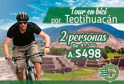 Tour en bici para 2 personas $498