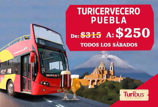 Turicervecero Puebla $250