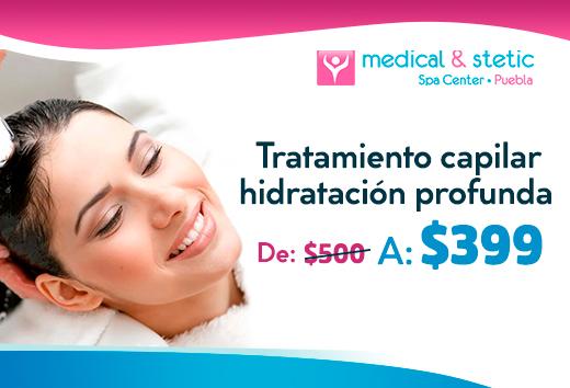 Tratamiento capilar hidratación profunda $399