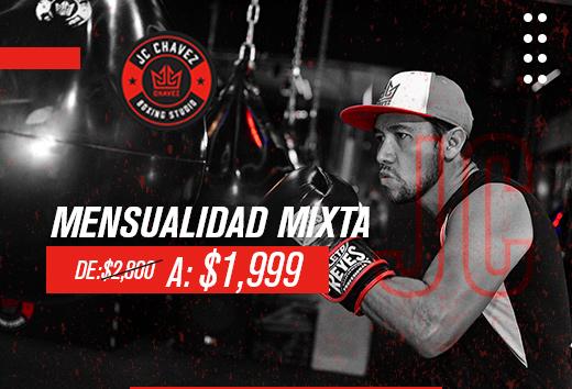 Mensualidad mixta $1,999