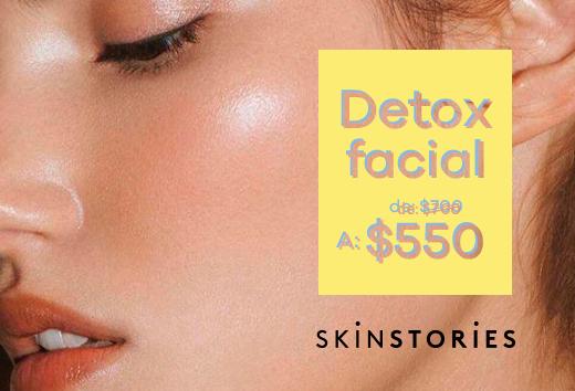 Detox facial $550