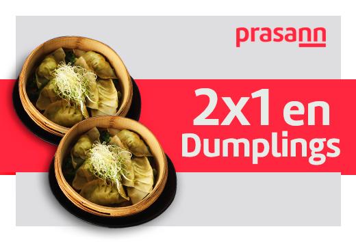 2x1 en dumplings