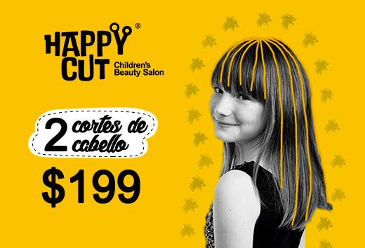 2 cortes de cabello $199
