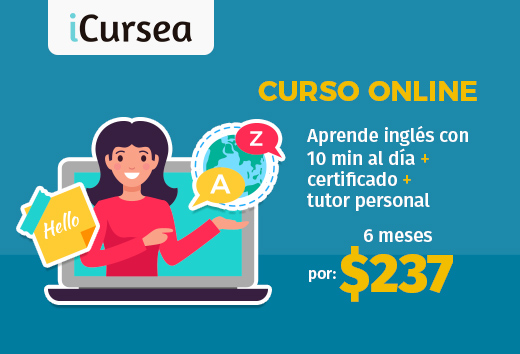 Curso online de inglés para gente ocupada $237
