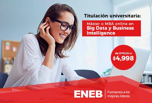 97% de descuento en Big Data y Business Intelligence online