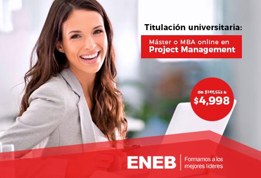 97% de descuento en Project Management online