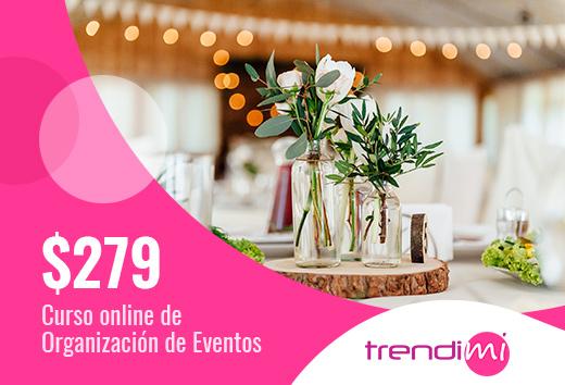 Curso online deorganización de eventos$279