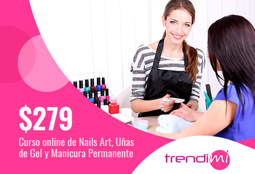 Curso online de nails art $279