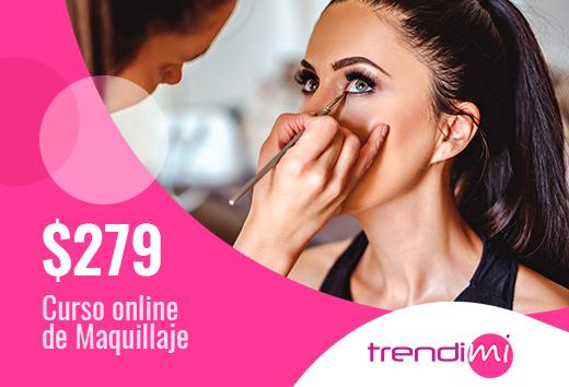 Curso online de maquillaje $279