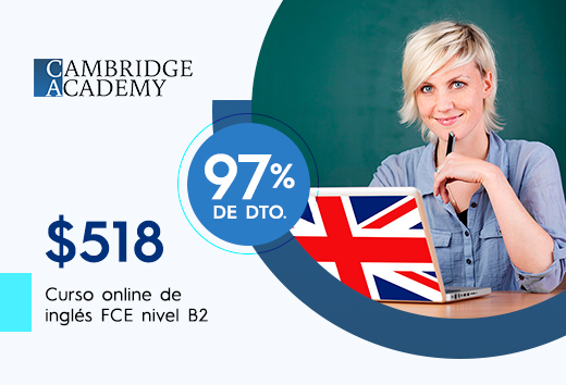 Curso online de preparaciónFCE nivel B2$518