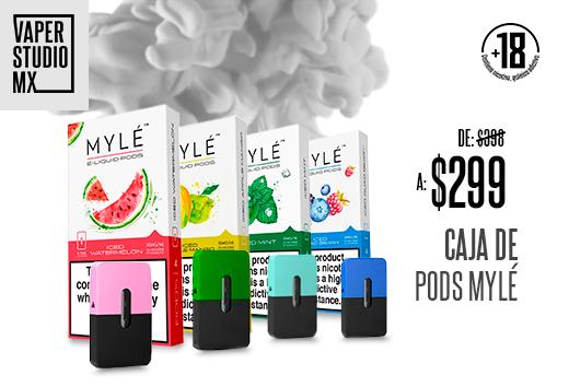 Cajas de pods Mylé $299