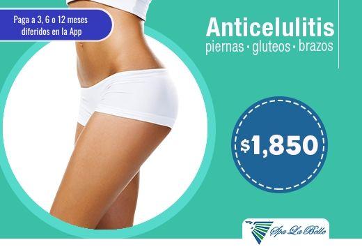 Tratamiento Anticelulitis $1,850