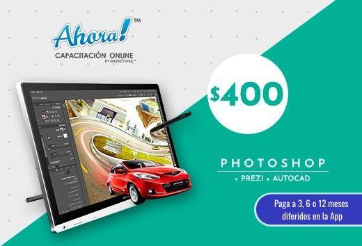 Photoshop + Prezi + Autocad $400