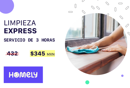 Limpieza express $345