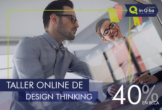 40% en taller online de Design Thinking
