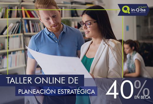 40% taller online de planeación estratégica
