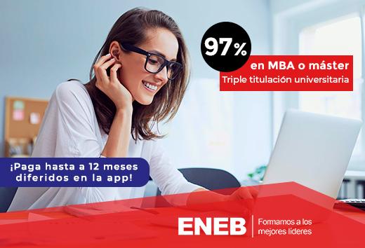 97% en MBA o máster