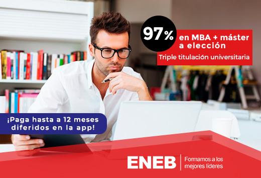 97% MBA + máster