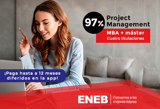 97% MBA + máster en Project Management