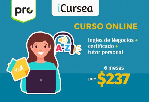 Curso online de inglés de negocios $237