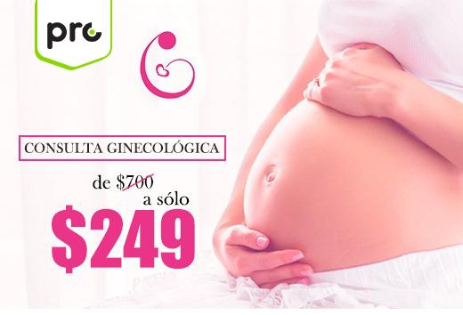 Consulta ginecológica de $700 a sólo $249