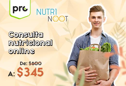 Consulta nutricional online $345