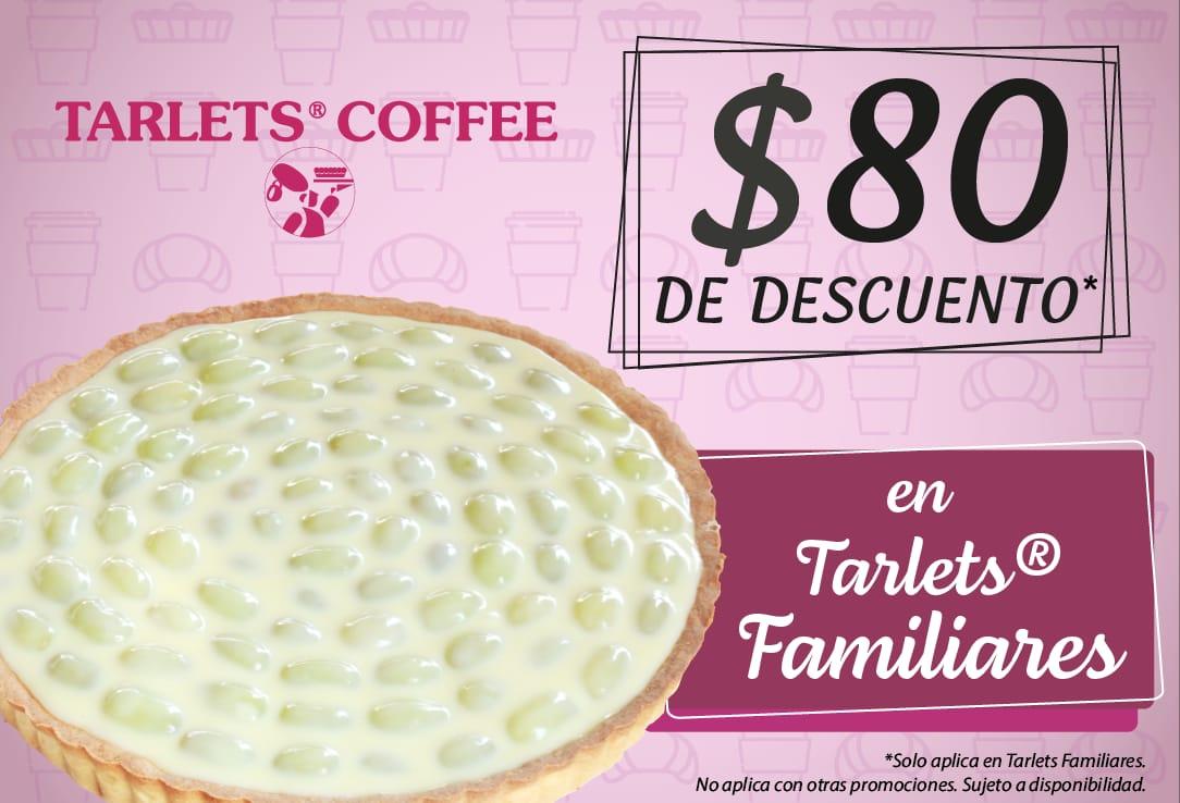 $80 de descuento en tarlets familiares