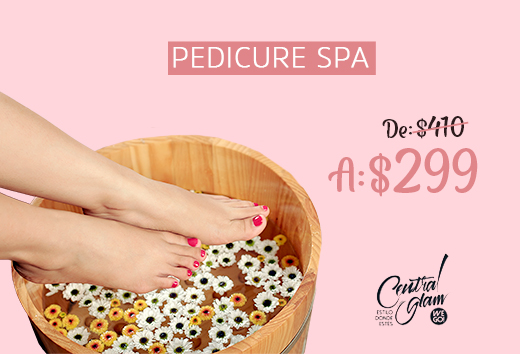 Pedicure spa $299
