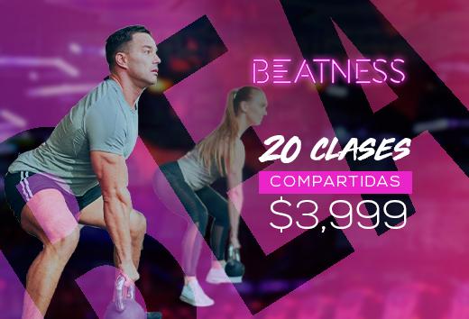 20 clases compartidas $3,999