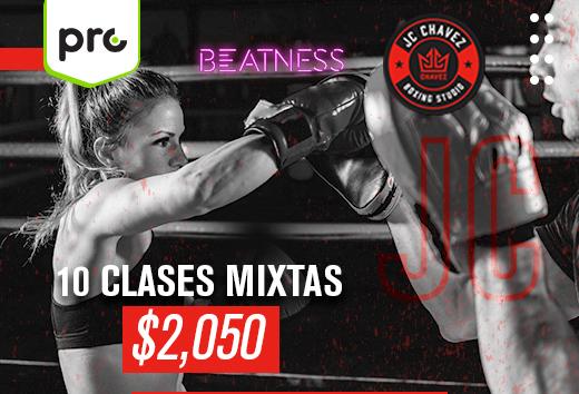10 clases mixtas Beatness y JC Chávez $2,050