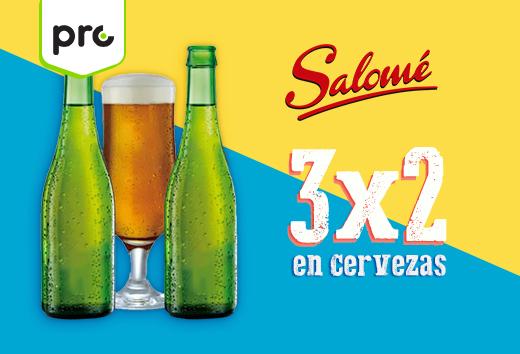 3x2 en cervezas