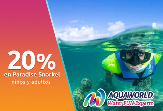 20% en Paradise Snorkel