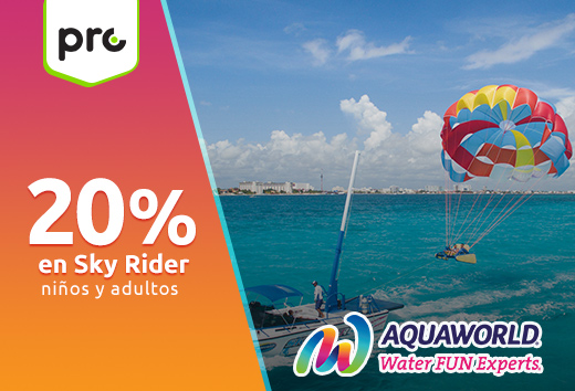 20% en Sky Rider