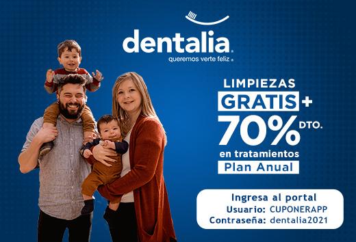 Hasta 70% en plan dental todo incluido