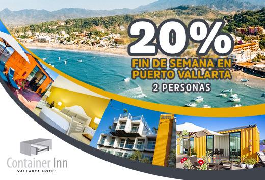 20% fin de semana en Puerto Vallarta
