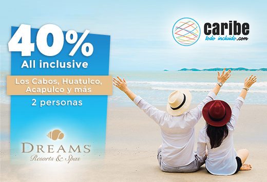 40% all inclusive a elegir