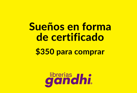 Certificado de $350 pagando $297