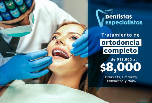 50% en tratamiento de ortodoncia