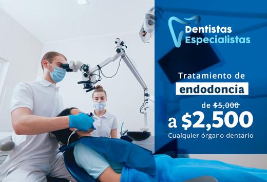 50% en endodoncia