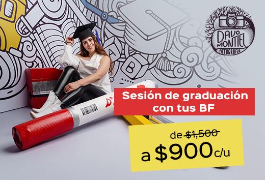Sesión de graduación $900