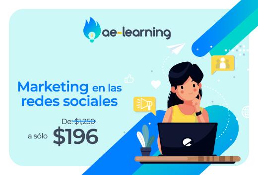 Marketing en las redes sociales: Community Management $196