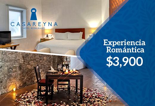 Experiencia romántica $3,900
