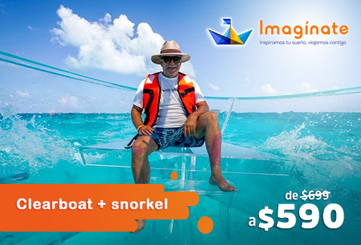 Clearboat + snorkel $590