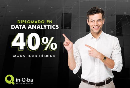 40% beca en Diplomado en Data Analytics