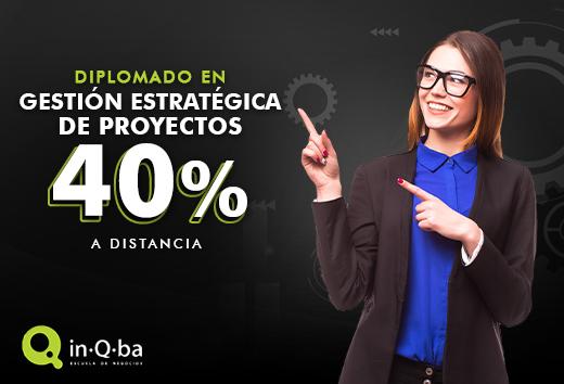 40% beca Diplomado en Gestión Estratégica de Proyectos